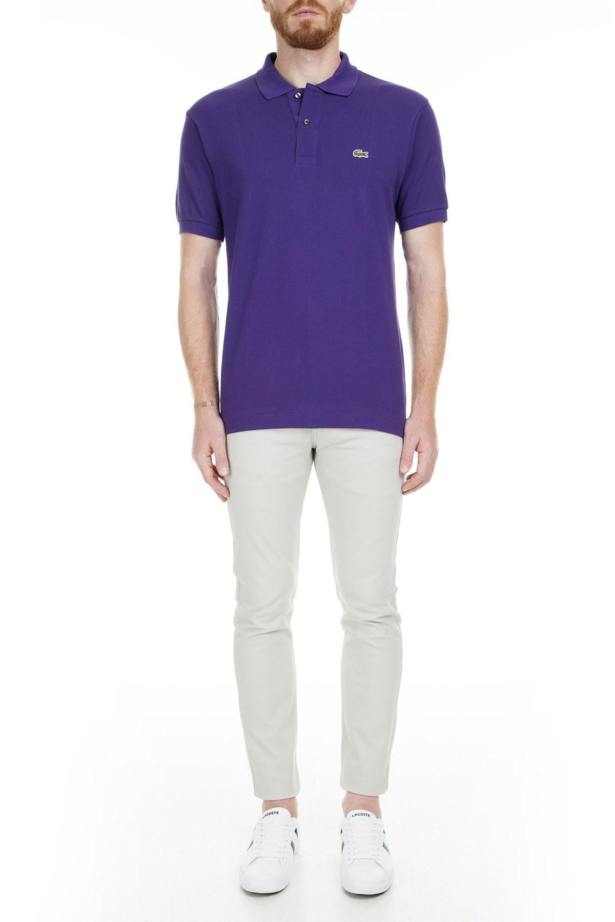 Lacoste Polo Erkek T Shirt L1212 PFN MOR