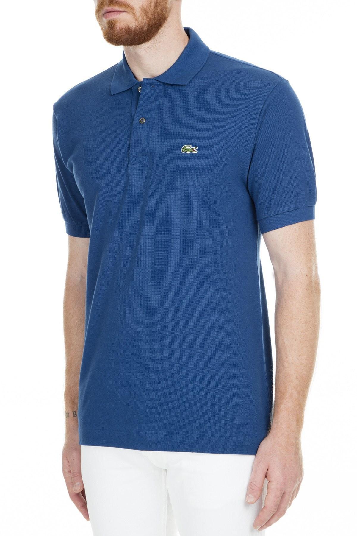 Lacoste Polo Erkek T Shirt L1212 Q1Y LACİVERT