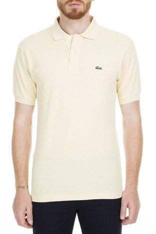 Lacoste - Lacoste Polo Erkek T Shirt L1264 PHA SARI