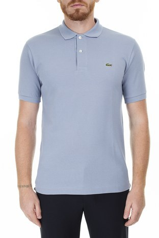 Lacoste - Lacoste Polo Erkek T Shirt S L1212 NU0 AÇIK GRİ