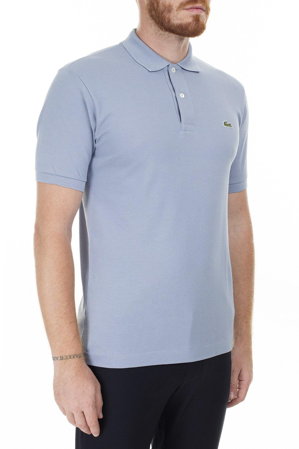 Lacoste Polo Erkek T Shirt S L1212 NU0 AÇIK GRİ