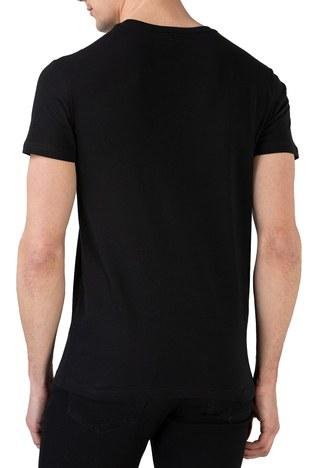 Lacoste - Lacoste Erkek T Shirt TH0101 01S SİYAH (1)