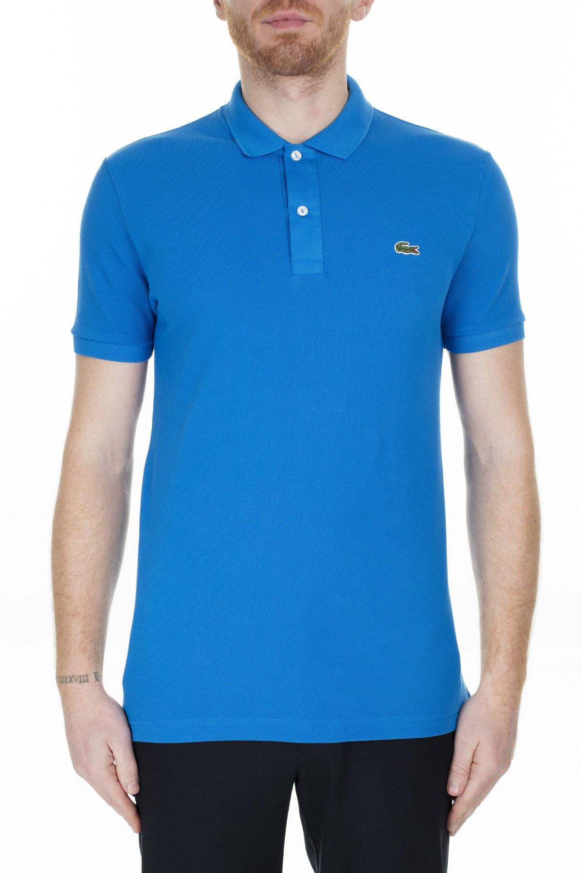 Lacoste Slim Fit T Shirt Erkek Polo PH4012 L61 SAKS