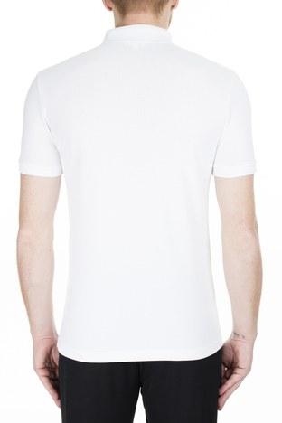 Lacoste - Lacoste Pamuklu Slim Fit T Shirt Erkek Polo PH4014 001 BEYAZ (1)