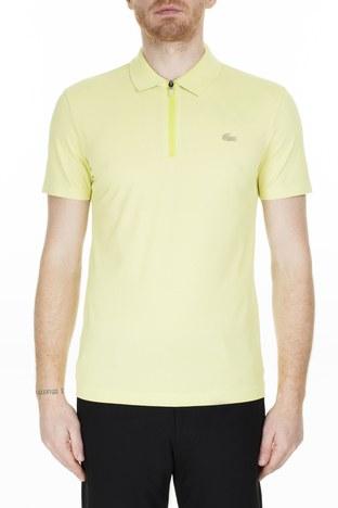 Lacoste - Lacoste Slim Fit T Shirt Erkek Polo PH5109 TR7 SARI