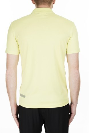 Lacoste - Lacoste Slim Fit T Shirt Erkek Polo PH5109 TR7 SARI (1)