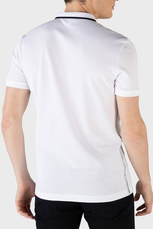 Lacoste - Lacoste % 100 Pamuk Düğmeli T Shirt Erkek Polo PH0154 54B BEYAZ (1)