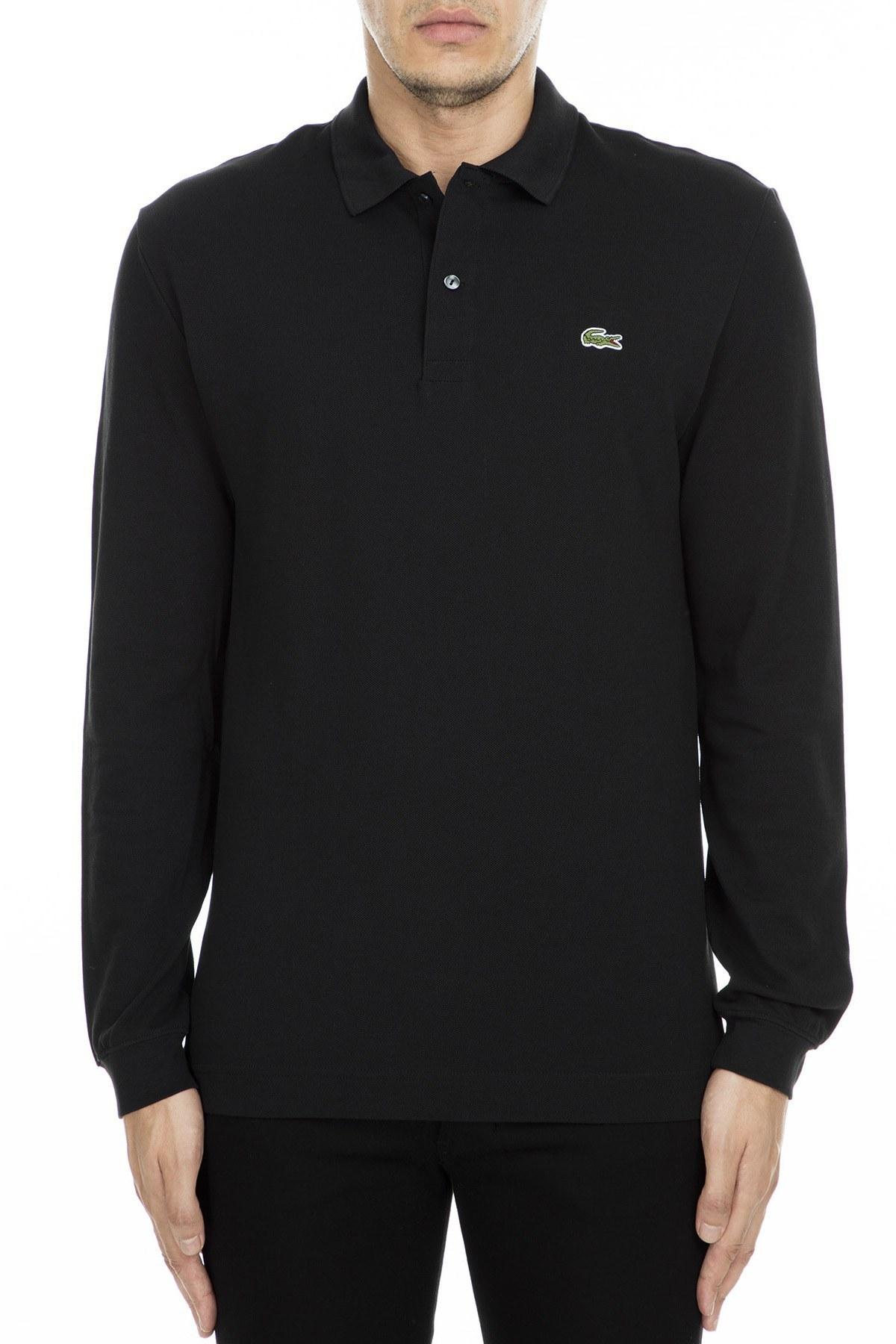 Lacoste T Shirt Erkek Polo PH4013 031 SİYAH