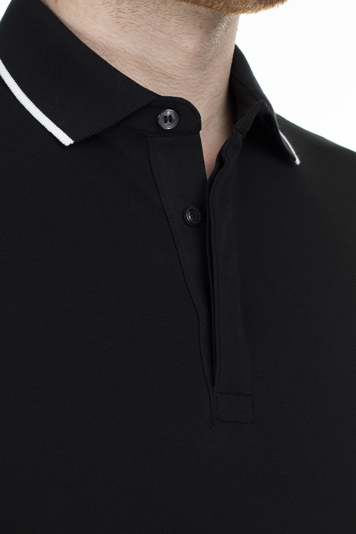 Lacoste T Shirt Erkek Polo PH4275 031 SİYAH