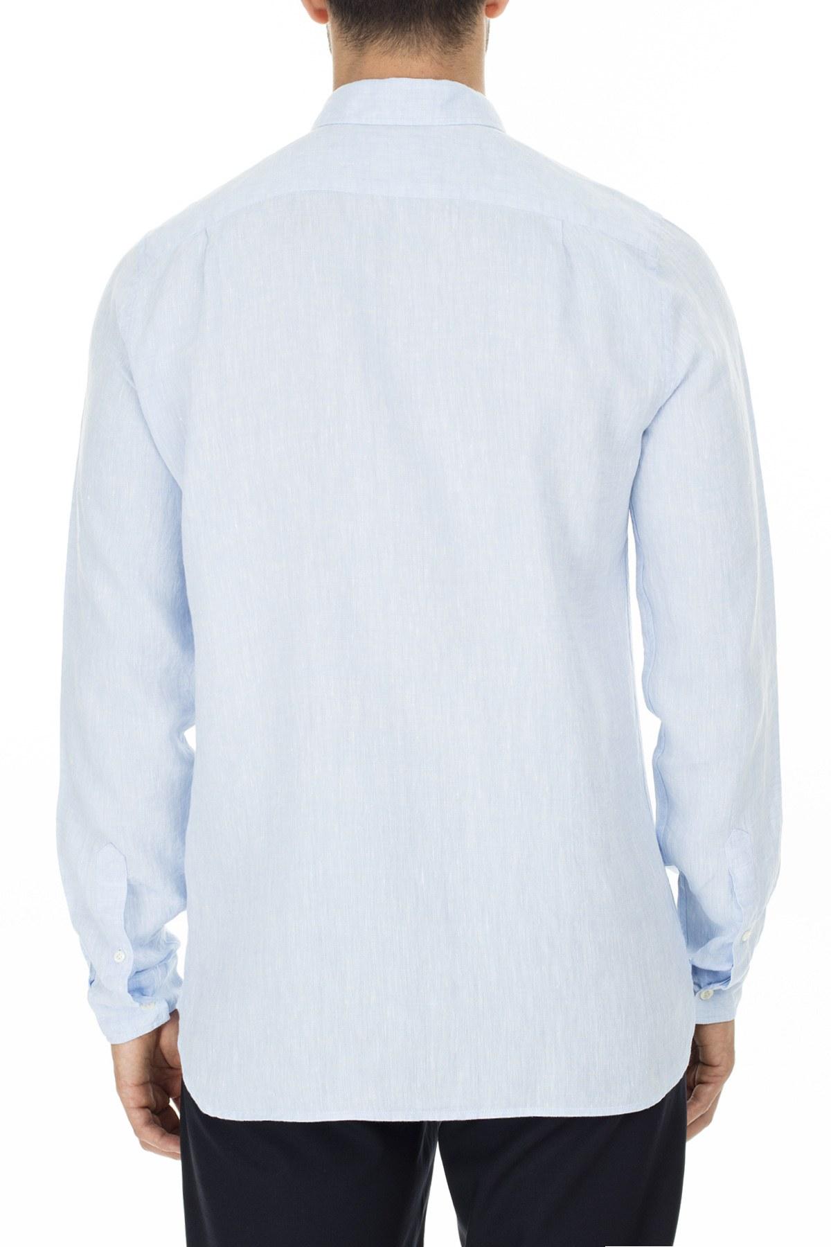 Lacoste Uzun Kollu Slim Fit Erkek Gömlek CH4990T T01 AÇIK MAVİ