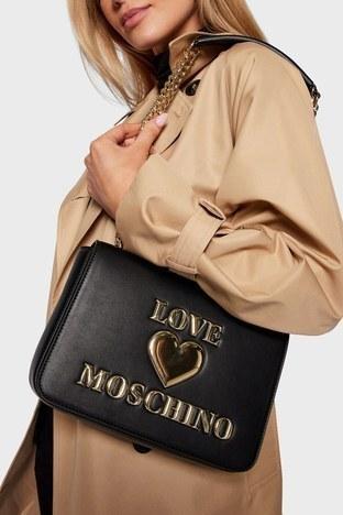 Love Moschino - Love Moschino Bayan Çanta S JC4054PP1CLF0000 SİYAH (1)