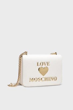 Love Moschino - Love Moschino Bayan Çanta S JC4054PP1CLF0100 BEYAZ