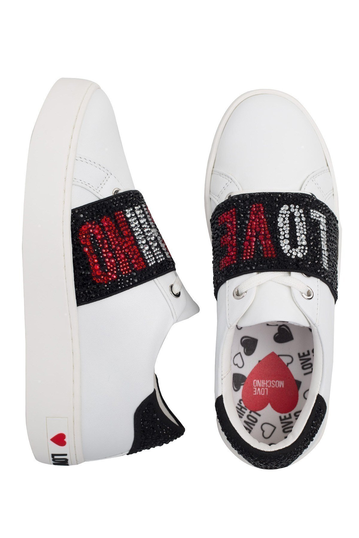 Love Moschino Deri Bayan Ayakkabı JA15103G1BIA0100 BEYAZ