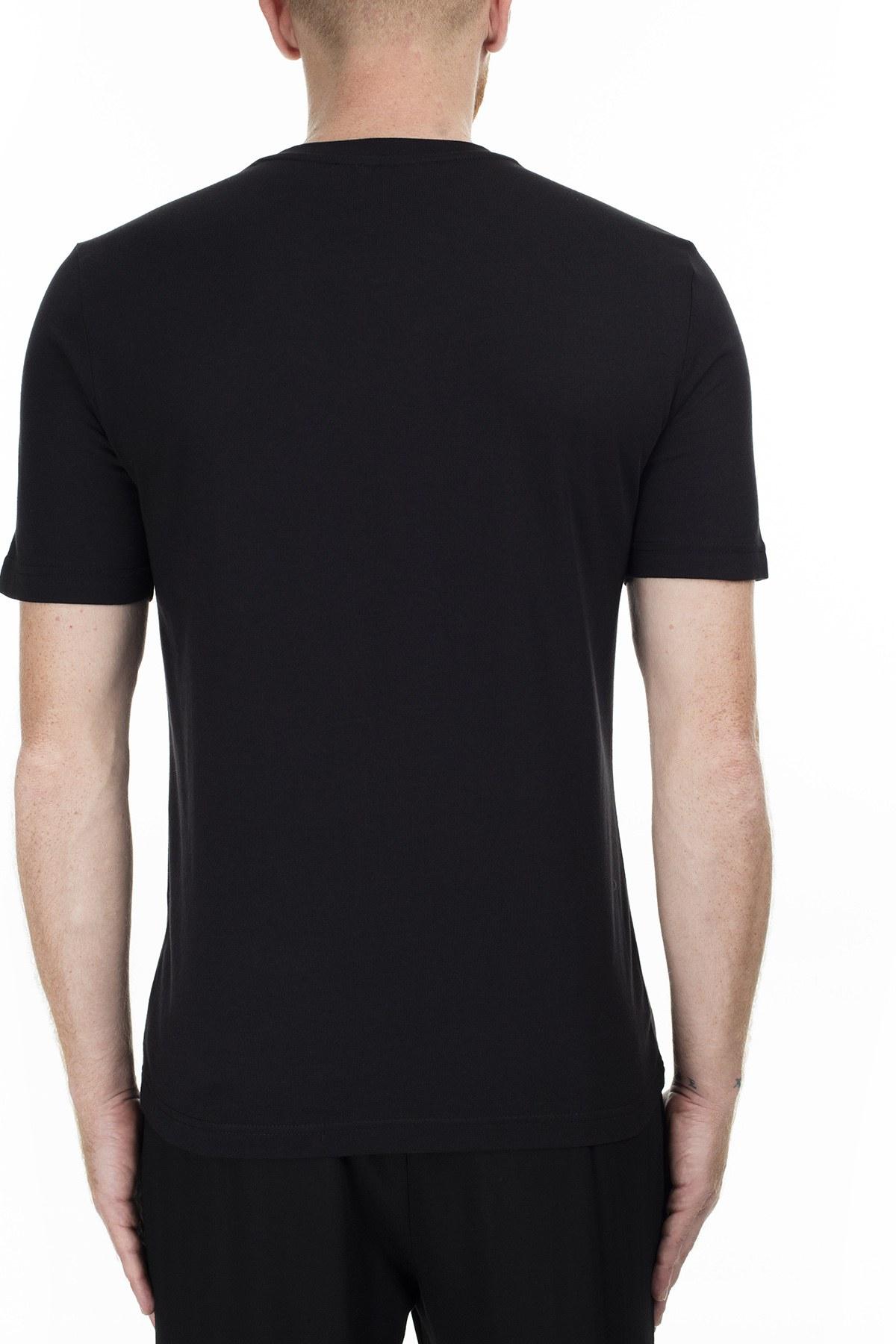 Love Moschino Erkek T Shirt S M47323BM3876 C74 SİYAH