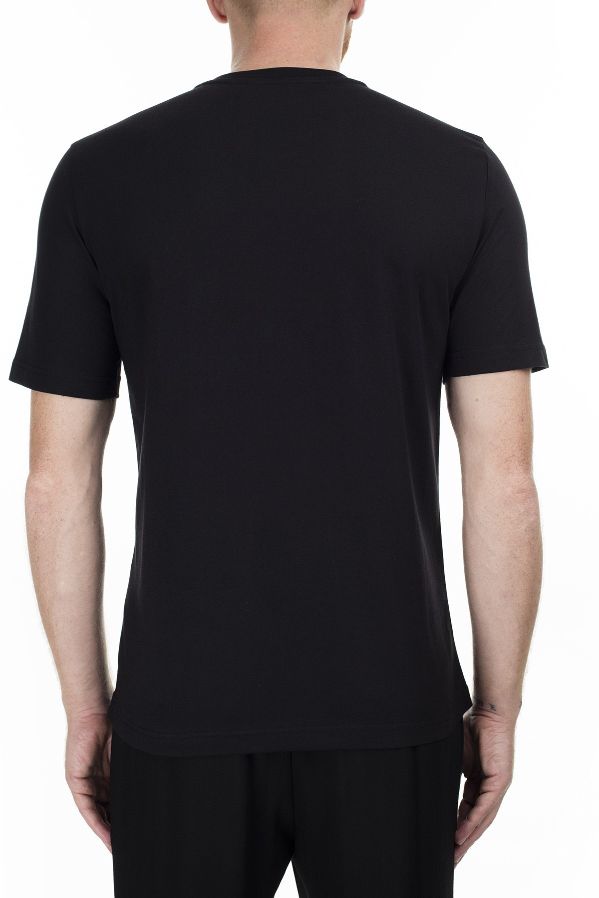 Love Moschino Erkek T Shirt S M47323JM3876 C74 SİYAH