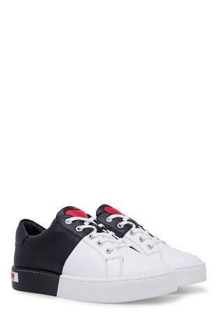 Love Moschino Kadın Ayakkabı JA15013G1A10A SİYAH-BEYAZ