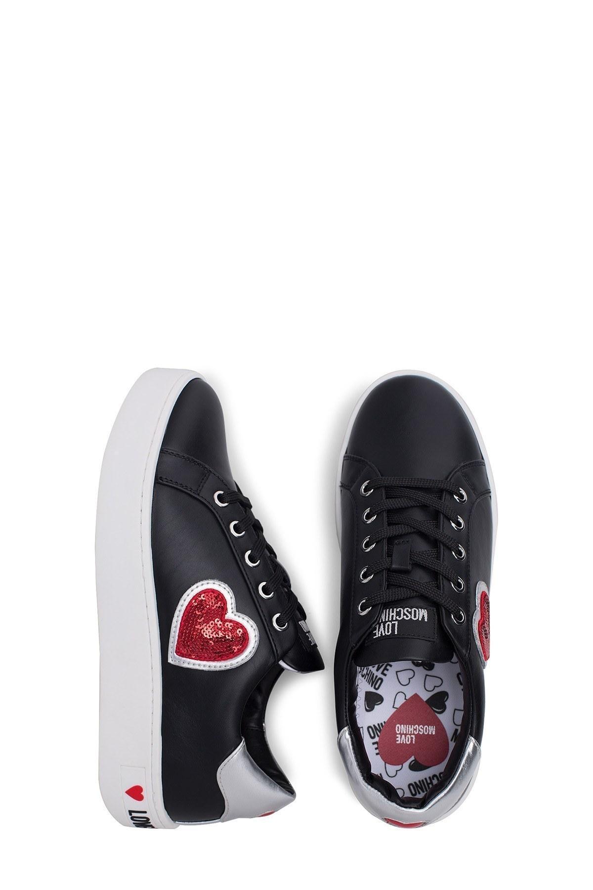 Love Moschino Kadın Ayakkabı JA15063G1A00B SİYAH