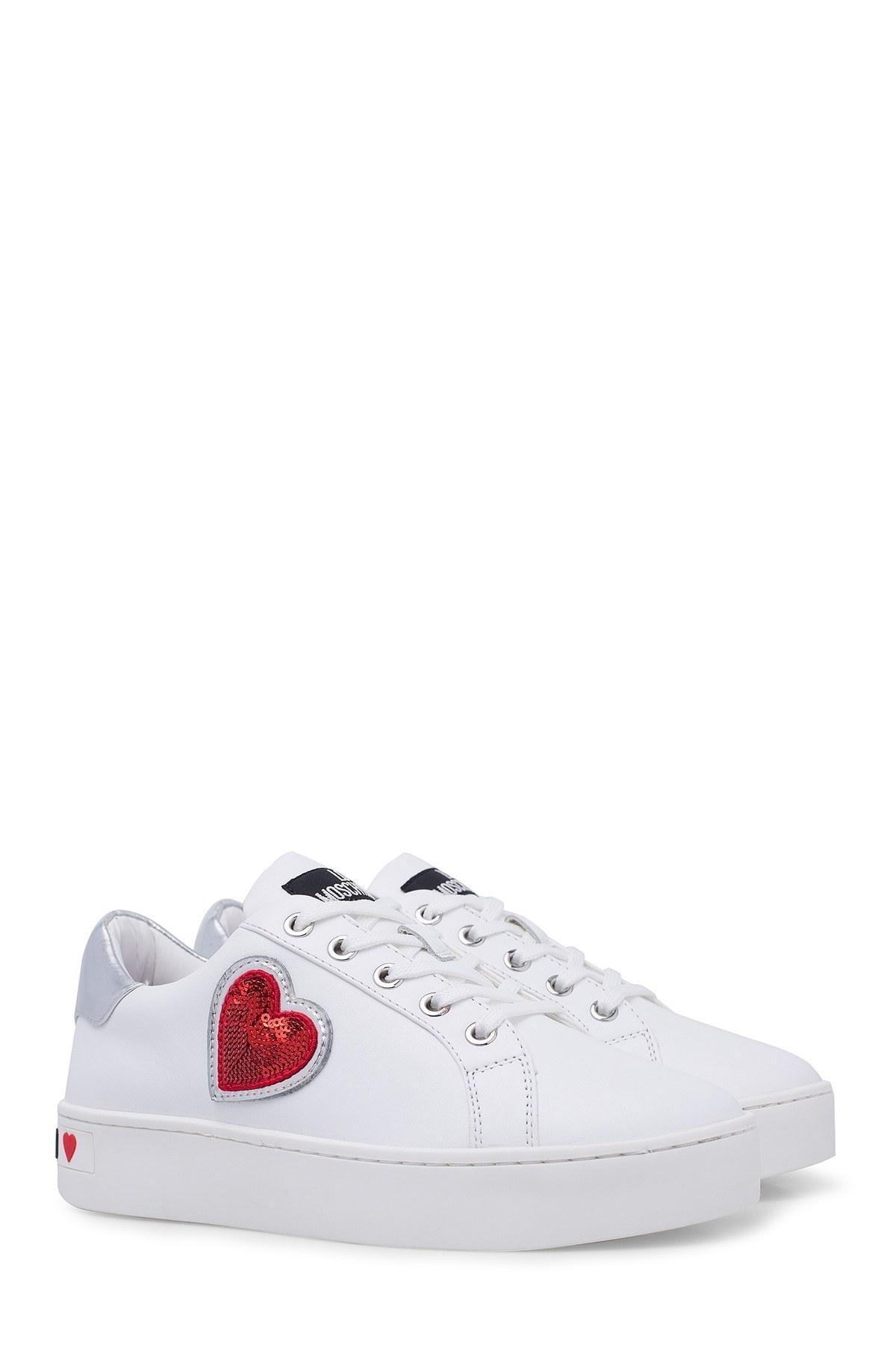 Love Moschino Kadın Ayakkabı JA15063G1A10B BEYAZ