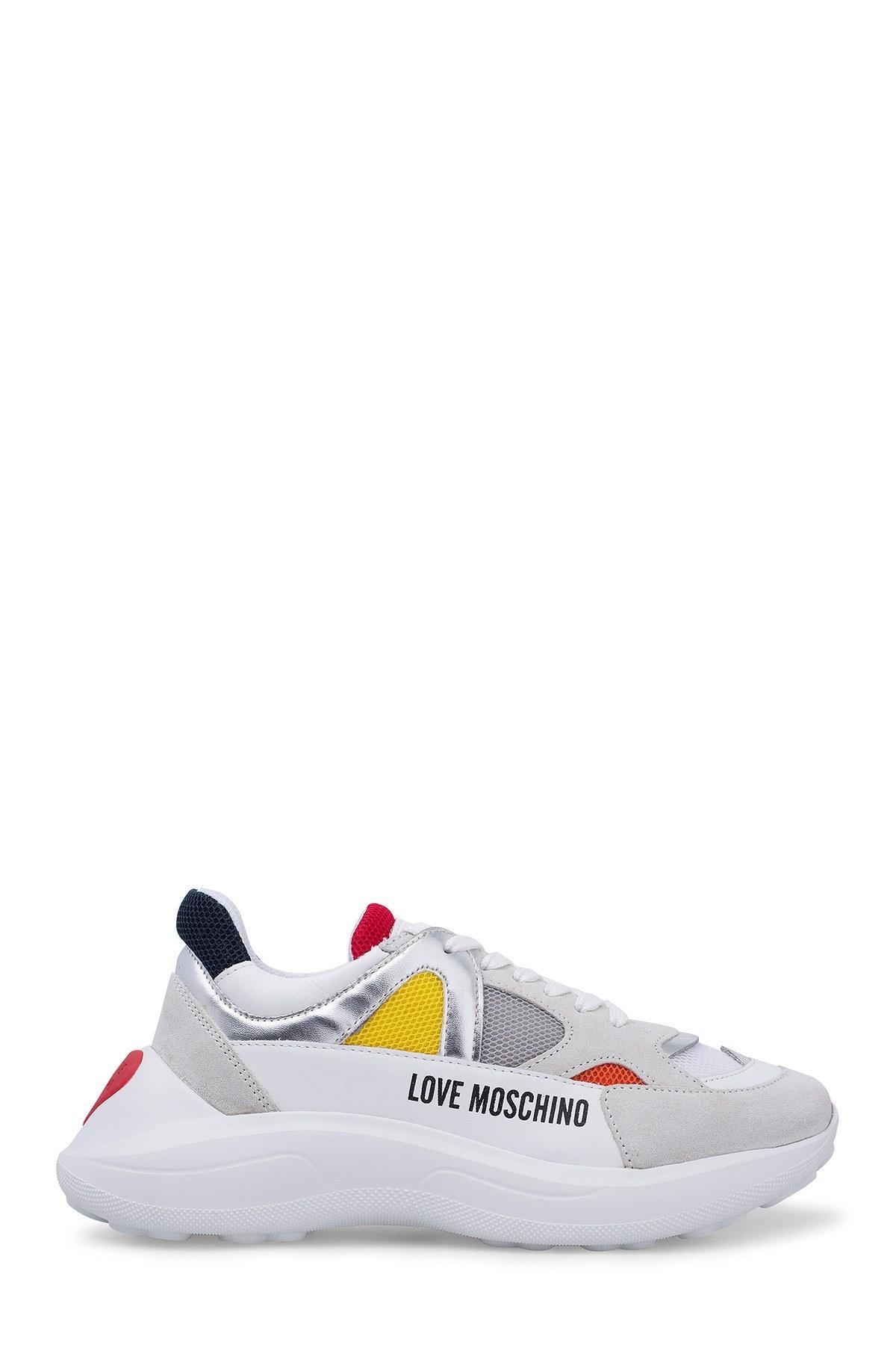 Love Moschino Kadın Ayakkabı JA15306G1A01A BEYAZ