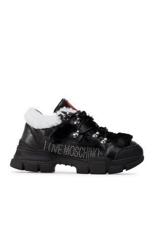 Love Moschino - Love Moschino Bayan Ayakkabı JA15434G0BJAF00A SİYAH