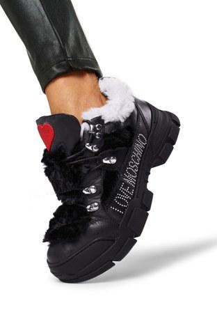 Love Moschino - Love Moschino Bayan Ayakkabı JA15434G0BJAF00A SİYAH (1)