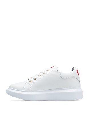Love Moschino - Love Moschino Kadın Ayakkabı JA15494G0BJA0100 BEYAZ (1)