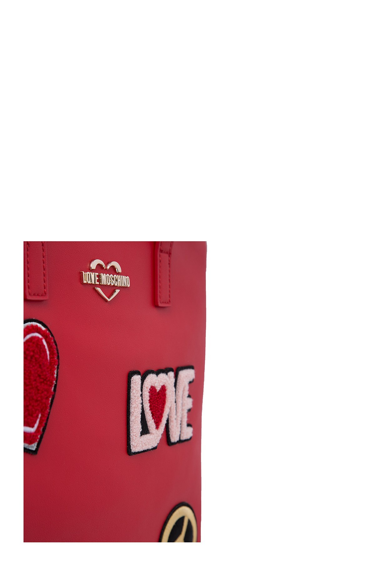 Love Moschino Bayan Çanta S JC4081PP17LJ0500 KIRMIZI