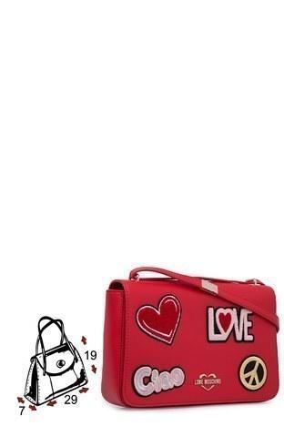 Love Moschino Kadın Çanta S JC4083PP17LJ0500 KIRMIZI