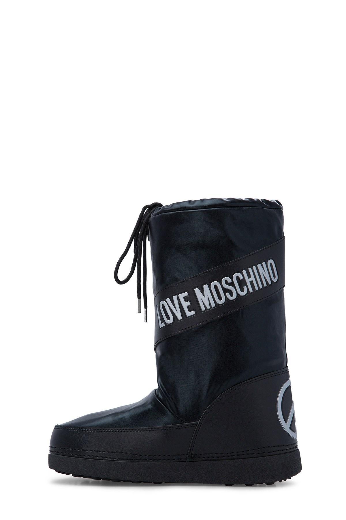 Love Moschino Kadın Kar Botu JA24012G18IJ0000 SİYAH