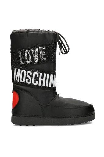 Love Moschino Kadın Kar Botu JA24042G0BIU100A SİYAH