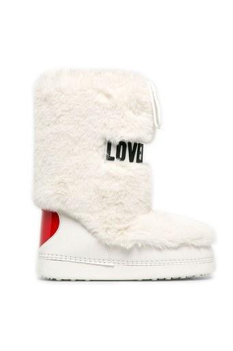 Love Moschino Kadın Kar Botu JA24082G0BJ5110A BEYAZ