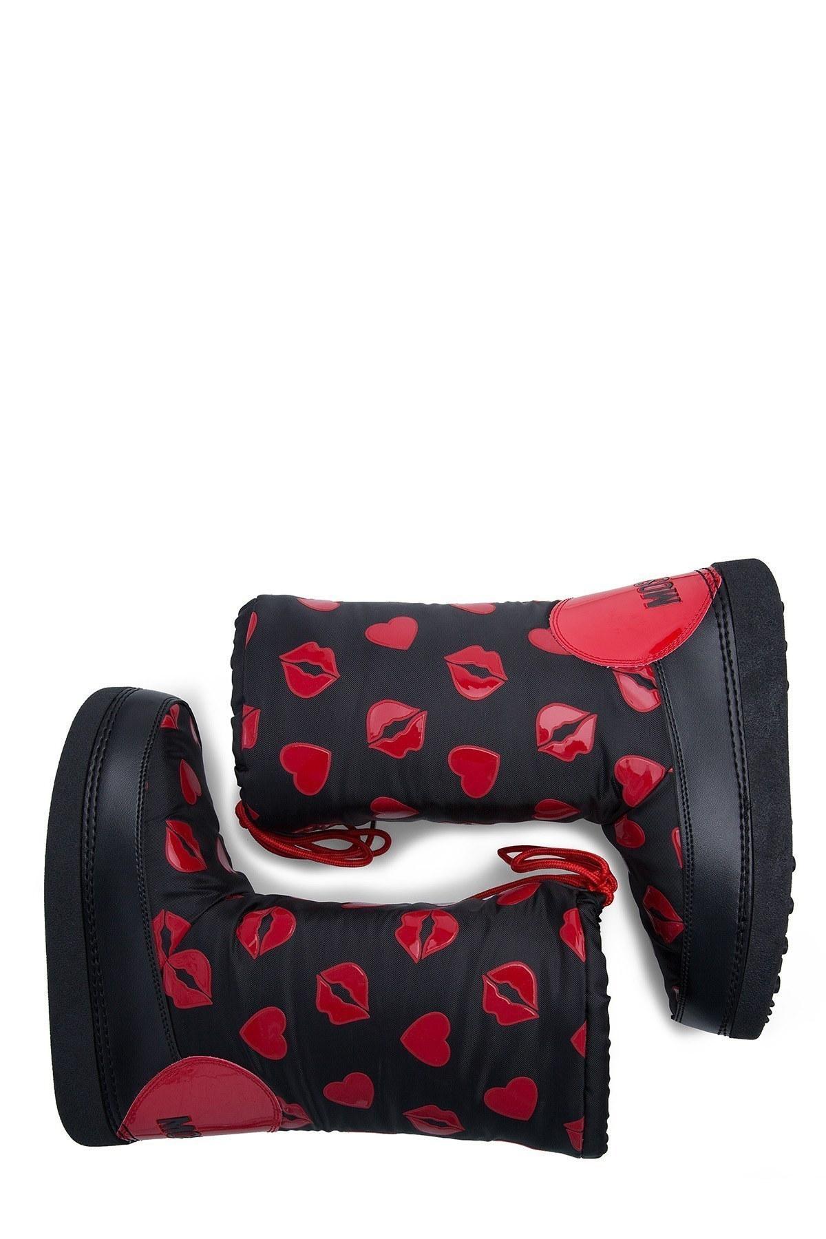 Love Moschino Kadın Kar Botu JA24092G18IQ0000 SİYAH