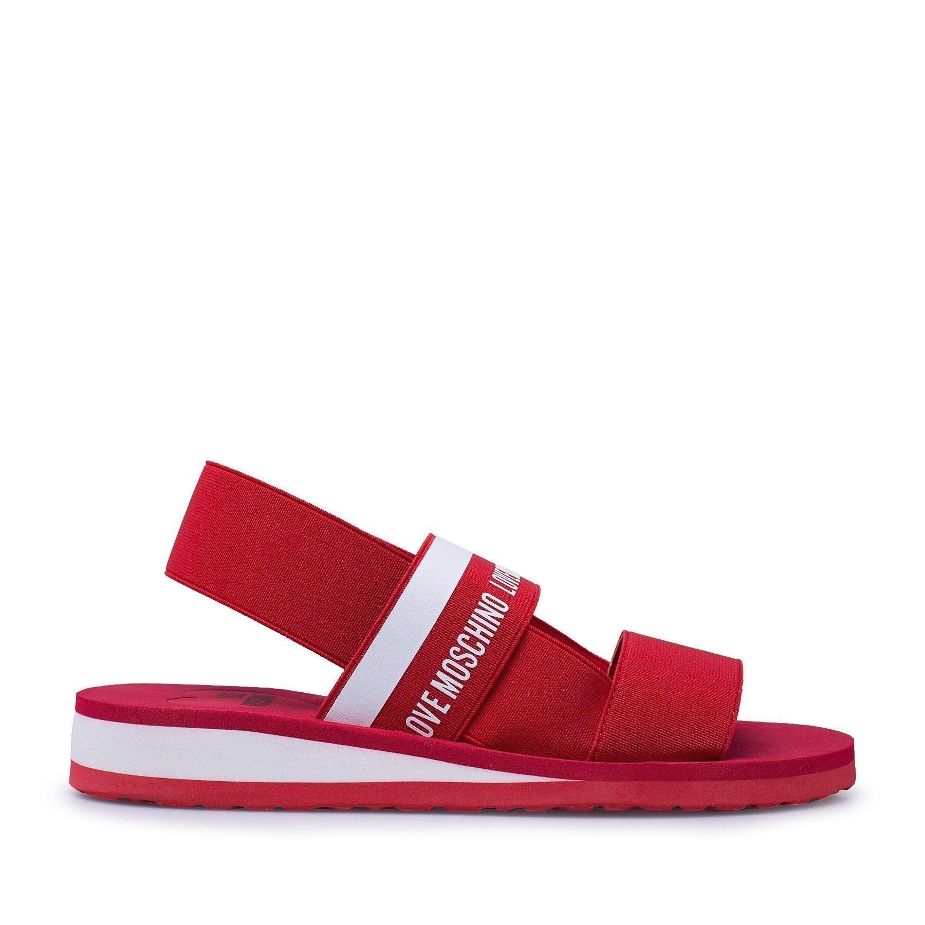 Love Moschino Kadın Sandalet JA16013G0AJW1500 KIRMIZI