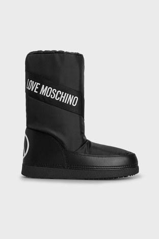Love Moschino - Love Moschino Logolu Bayan Kar Botu JA24032G1DISA000 SİYAH