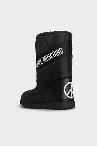 Love Moschino - Love Moschino Logolu Bayan Kar Botu JA24032G1DISA000 SİYAH (1)