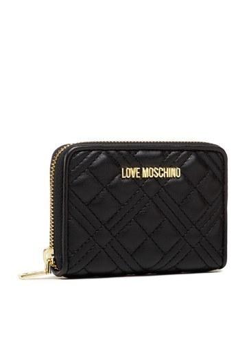 Love Moschino Marka Logolu Kapitoneli Kadın Cüzdan JC5602PP1CLA0000 SİYAH