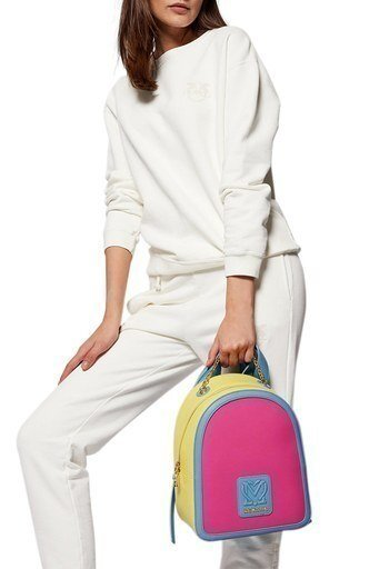 Love Moschino Marka Logolu Zincir Askı Detaylı Sırt Kadın Çanta JC4115PP1CLK160A PEMBE