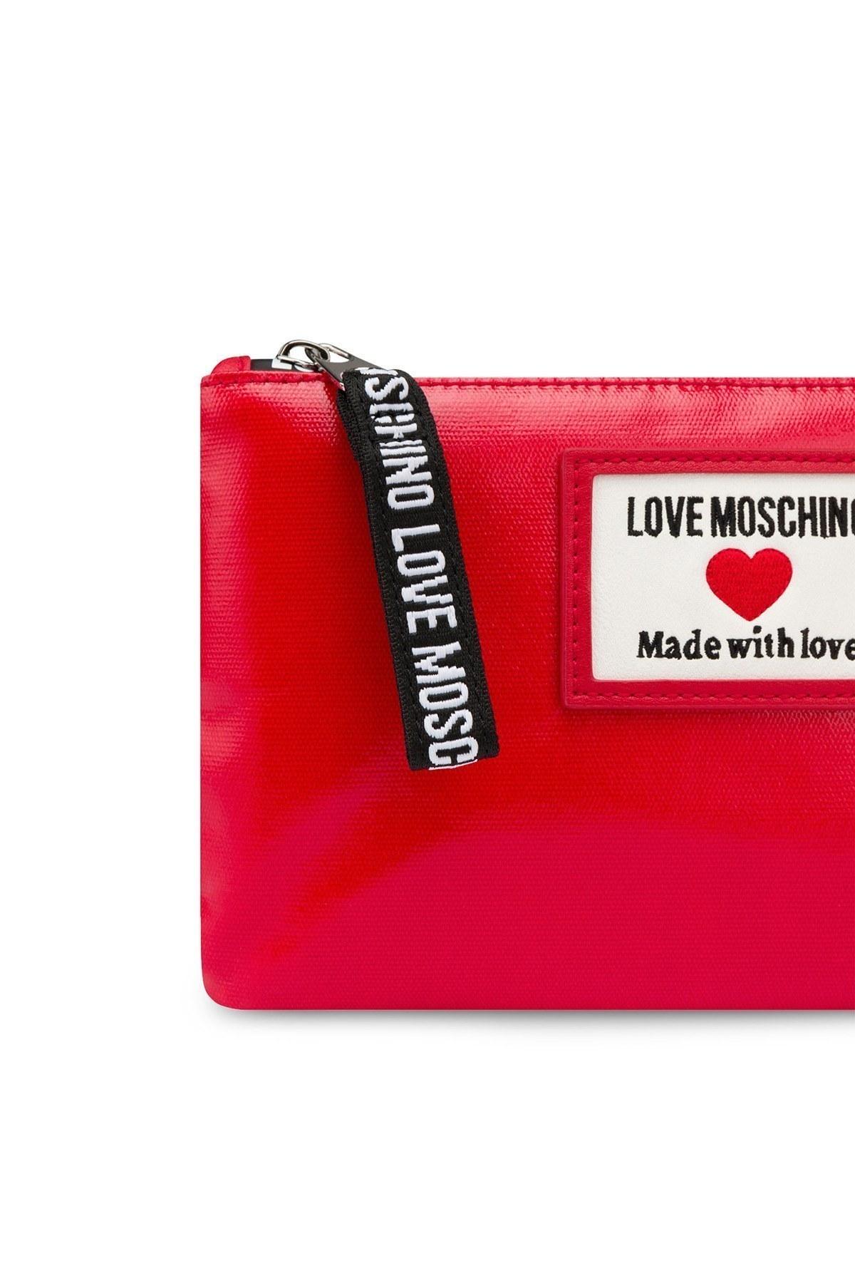 Love Moschino Marka Logolu Zincir Askılı Bayan Çanta JC4037PP1CLC150A KIRMIZI