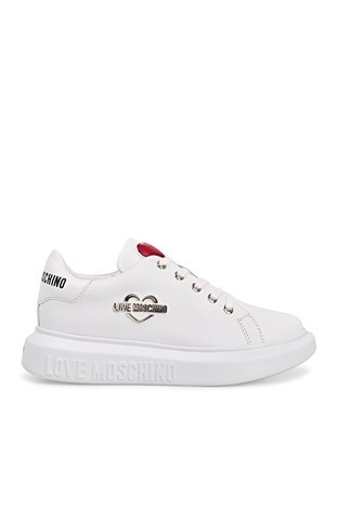 Love Moschino - Love Moschino Sneaker Kadın Ayakkabı JA15204G1CIA0100 BEYAZ