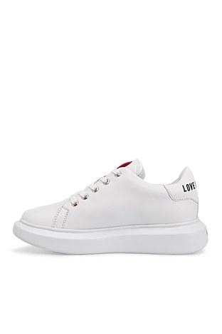 Love Moschino - Love Moschino Sneaker Kadın Ayakkabı JA15204G1CIA0100 BEYAZ (1)