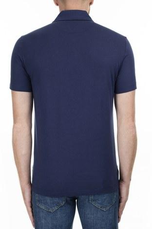 Love Moschino - Love Moschino T Shirt Erkek Polo S M831803M3876 Y61 LACİVERT (1)