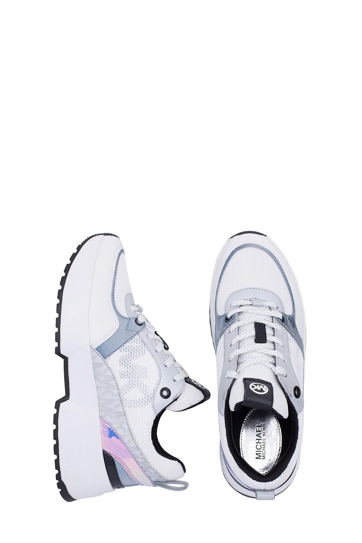 Michael Kors Kadın Ayakkabı 43R0BLFE9D 085 BEYAZ