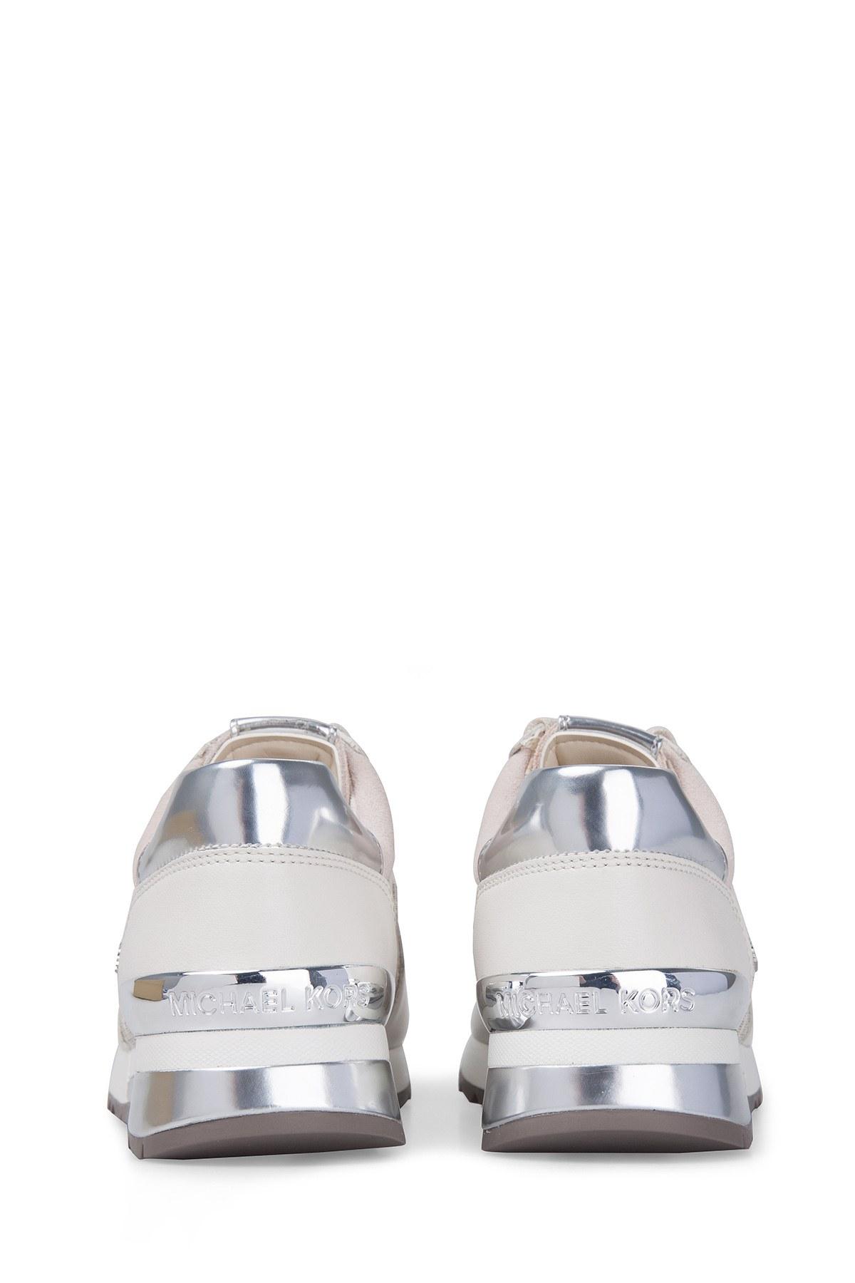 Michael Kors Kadın Ayakkabı 43R6ALFP2B 150 VANİLYA