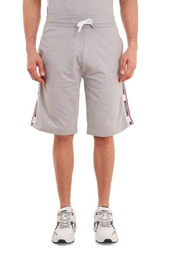 Moschino Logo Bantlı Belden Bağlamalı Cepli Erkek Short A4306 8106 0489 GRİ