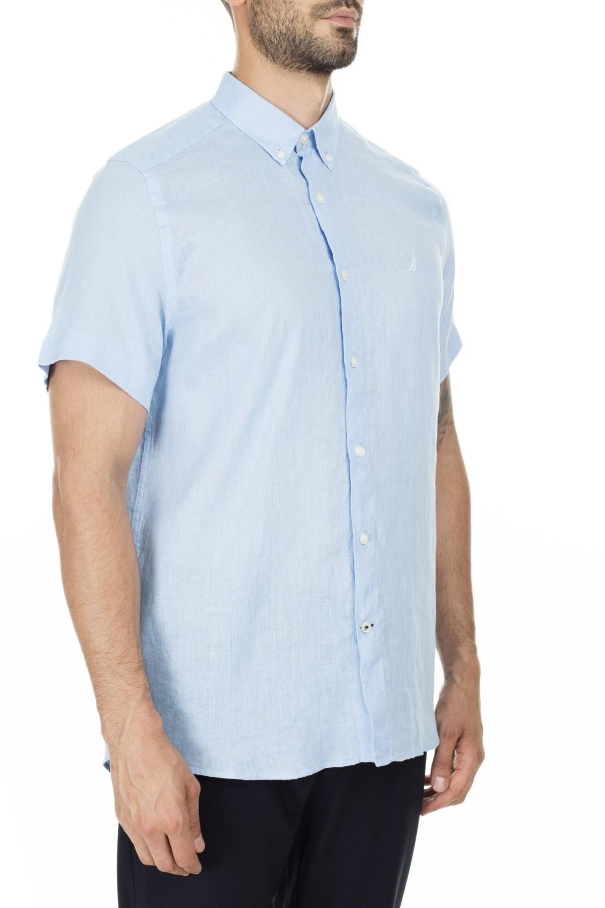 Nautica Erkek Gömlek W01900T 4NN MAVİ