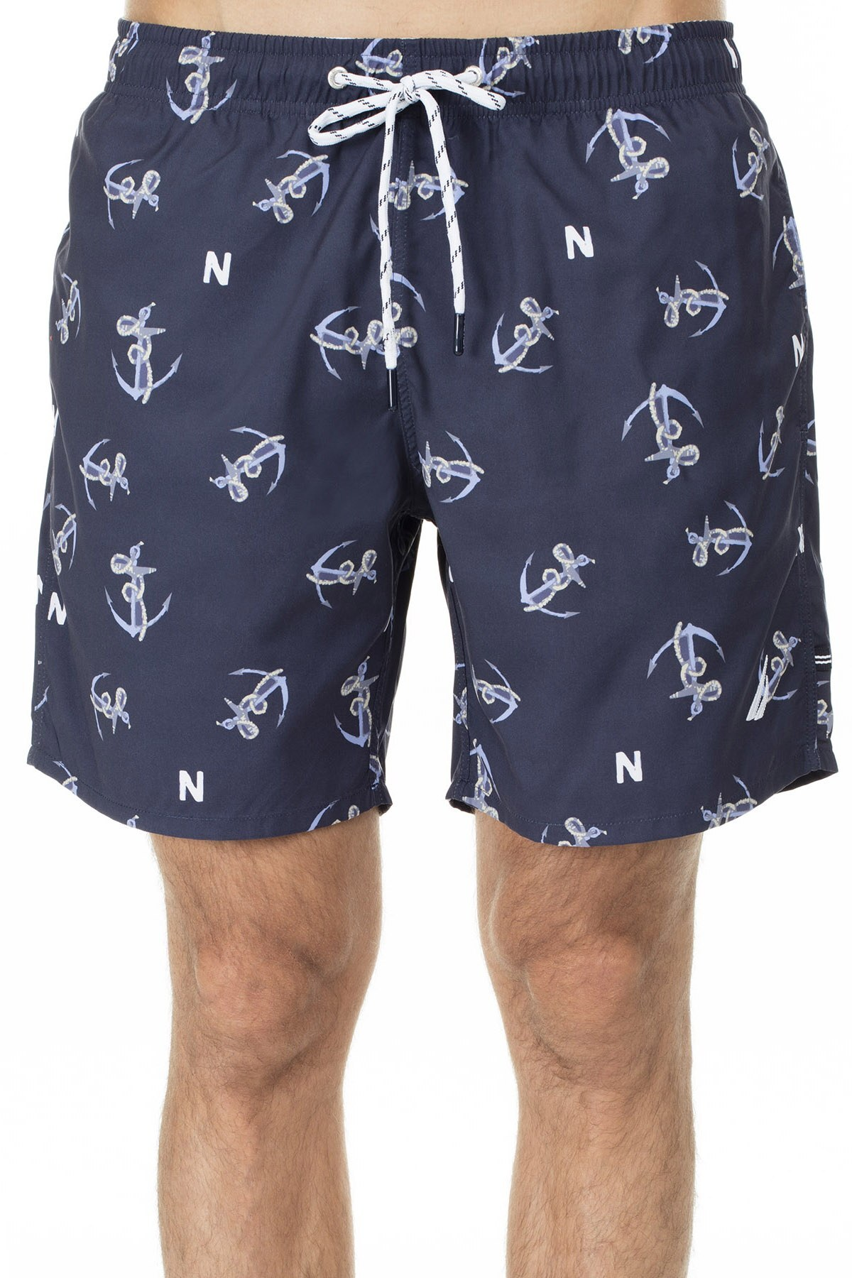 Nautica Erkek Mayo Short T01905T 4NV LACİVERT