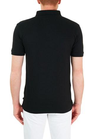 Nautica - Nautica Pamuklu Düğmeli T Shirt Erkek Polo K15635T 0TB SİYAH (1)