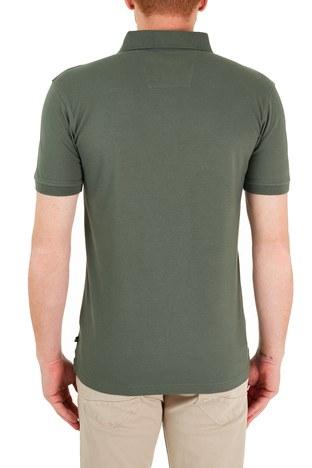 Nautica - Nautica Pamuklu Düğmeli T Shirt Erkek Polo K15635T 3BP YEŞİL (1)