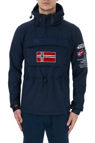 Norway Geographical - Norway Geographical Kapüşonlu Outdoor Erkek Mont TERREAUX LACİVERT (1)