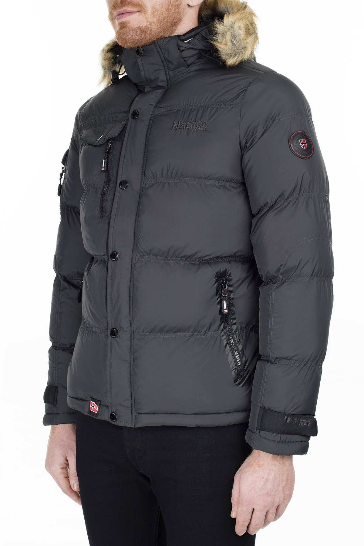 Norway Geographical Outdoor Erkek Mont CLEMENT ANTRASİT